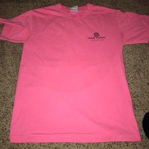 Pink simply Southern t shirt